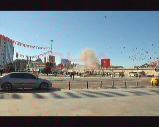 Momento de la explosión