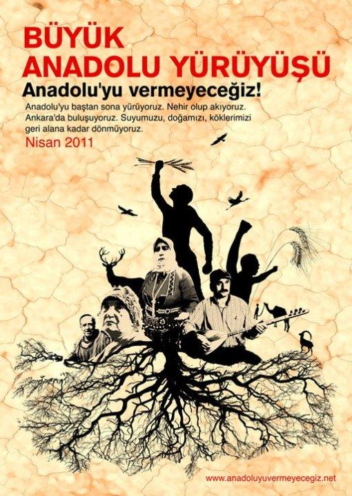 La gran marcha de Anatolia empieza en abril.