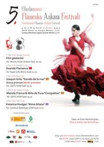 5. Uluslararası Flamenko Ankara Festivali
