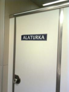 """Y así es como indican en el aeropuerto de Estambul que es un baño de """"agujero en el suelo"""""""